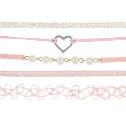 FAO SCHWARZ Girls 5-pc. Faux Pearls Choker Necklace Set