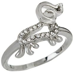 City by City Crystal Elements Dachshund Ring