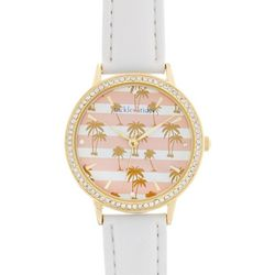 Tackle & Tides Womens Palm Tree & Stripes Watch