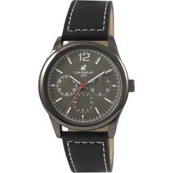 Caribbean Joe Mens Gunmetal Grey Dial Watch