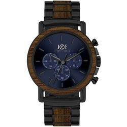 Joe By Joseph Abboud Mens Navy Blue & Black Watch