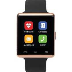 iTouch Air 2 Rose Gold Tone & Black Smartwatch