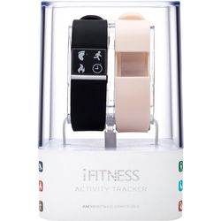 iTouch iFitness Pink & Black Activity Tracker Smartwatch