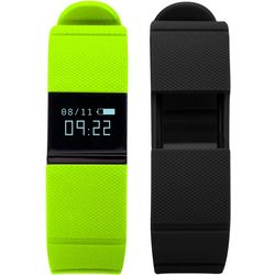 iTouch iFitness Green & Black Activity Tracker Smartwatch