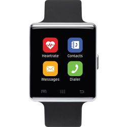 iTouch Air 2 Black & Silver Tone Smartwatch