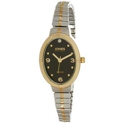 Jones New York Ladies Diamond Oval Stretch Watch