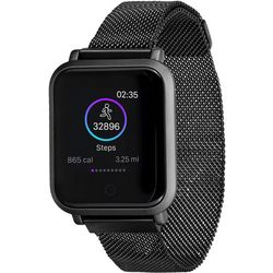iTouch Air 2s Black Mesh Band Smartwatch