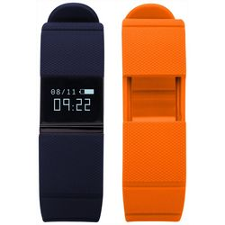iTouch iFitness Blue & Orange Activity Tracker Smart Watch