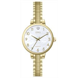 Jones New York Gold Tone EZ Read Diamond Watch