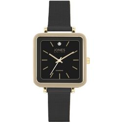 Jones New York Square Dial Diamond Strap Watch