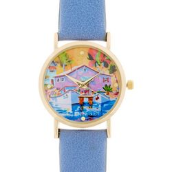 Ellen Negley Womens Fishing Boats & Buoys Watch