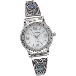Bay Studio Womens Southwestern & Abalone Watch