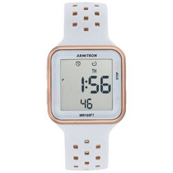 Armitron Sport Digital Chronograph Silicone Strap Watch