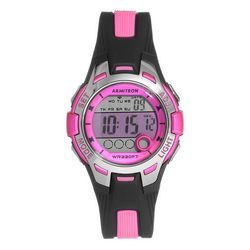 Armitron Womens Digital Chronograph Resin Strap Sport Watch