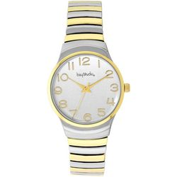 Bay Studio Two Tone EZ Read Bracelet Watch