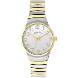 Bay Studio Two Tone EZ Read Bracelet Watch