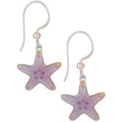 Bamboo Jewelry Sea Star Drop Earrings
