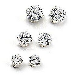 Signature Trio Stud Earrings