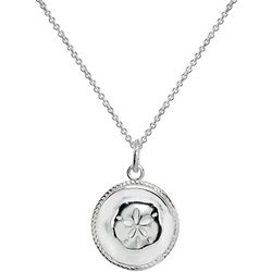 Signature Sterling Silver Sanddollar Necklace