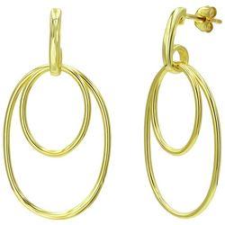 Piper & Taylor Double Oval Dangle Earrings