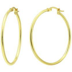 Piper & Taylor 30 mm Shiny Hoop Earrings