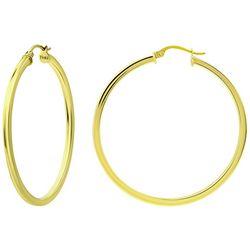 Piper & Taylor 40 mm Shiny Hoop Earrings