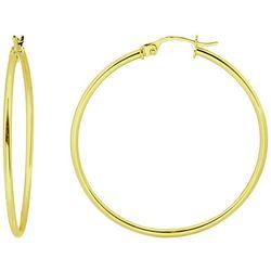 Piper & Taylor 50 mm Hoop Earrings