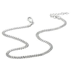 Two Strand Ball Anklet