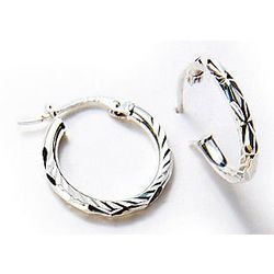 Signature Sterling Silver Hoop Earrings