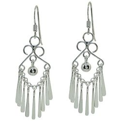 Signature Sterling Silver Multi Paddle Earrings