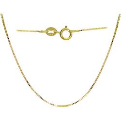 Signature 16 in. DC Box Chain Link Necklace