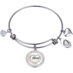 Footnotes MOP Mom Forever Friend Charm Bangle Bracelet