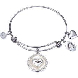 Footnotes MOP Mom Forever Friend Charm Bangle Bracelet
