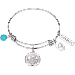 Footnotes Life's A Beach Starfish Charm Bangle Bracelet