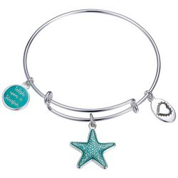 Footnotes Wish Upon A Starfish Bangle Bracelet