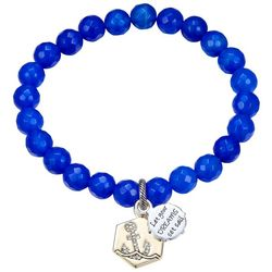 Footnotes Blue Let Your Dreams Set Sail Bracelet