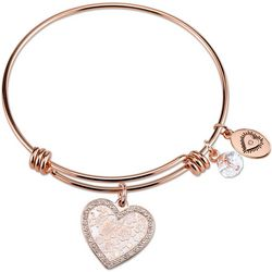 Footnotes Bloom Where You Are Planted Charm Bangle