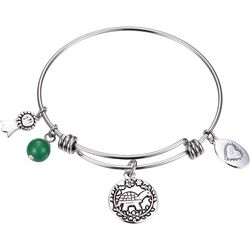Footnotes Turtle Believe Slow & Steady Wins Bangle
