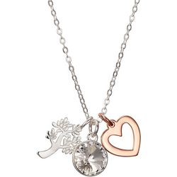 Footnotes A Family's Love Charm Pendant Necklace