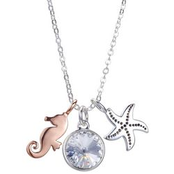 Footnotes Coastal Love The Beach Charm Pendant Necklace