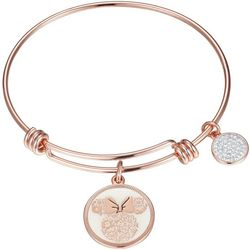 Disney Minnie Mouse Love & Kisses Charm Bangle Bracelet