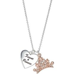 Disney Forever A Princess Charm Pendant Necklace