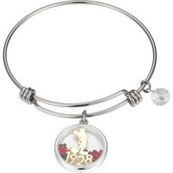 Disney 1928 Mickey Celebrating 90 Years Bangle Bracelet