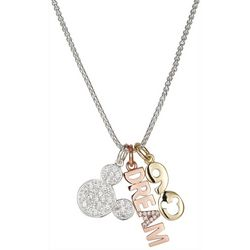 Disney Mickey Mouse Dream 90th Charm Necklace