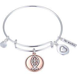 Gratitude & Grace Keep The Faith Bangle Bracelet