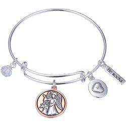 Gratitude & Grace Watch Over Me Bangle Bracelet