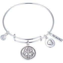 Gratitude & Grace Faith Family Friends Bangle Bracelet