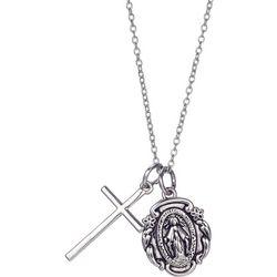 Gratitude & Grace Saint Benedict Pendant Necklace