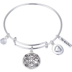 Gratitude & Grace Faith Hope Love Bangle Bracelet