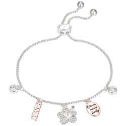 Disney Ohana Means Family Slider Chain Bracelet